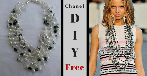 Chanel DIY 2 Photos White Back