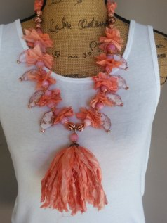 Apricot Sari