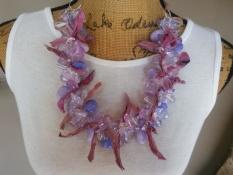 Lavender sari